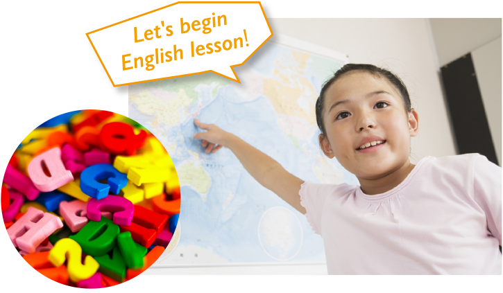 Let's begin English lesson!